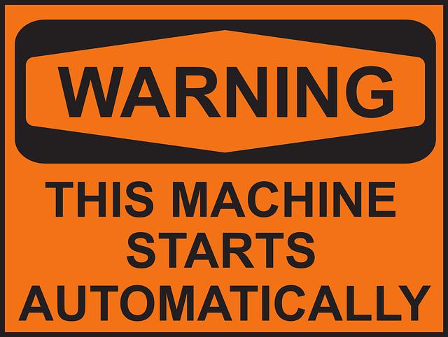 Work Equipment Risk Assessment Notice1