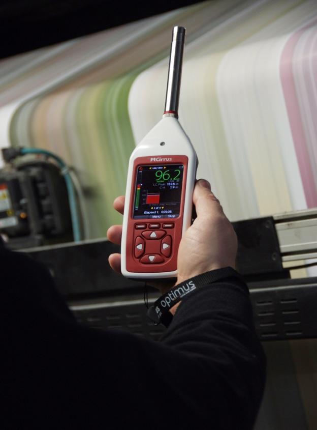 Noise Risk Assessment equipment